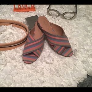 Madewell The Ruthie Crisscross Mule
